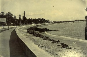 Madagascar Tamatave Boulevard Gallieni Ancienne Photo Ramahandry 1910'