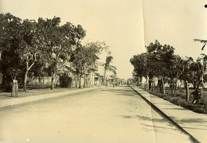 Madagascar Antsiranana rue Colbert Diego-Suarez Ancienne Photo Ramahandry 1910'