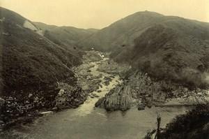 Madagascar Trace du Chemin de Fer Antembarano ? Ancienne Photo Ramahandry 1910'