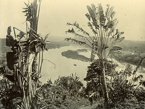 Madagascar Pangalanes Ancienne Photo Ramahandry 1910'