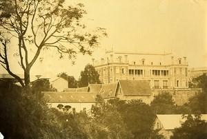 Madagascar Tananarive Résidence du Gouverneur Ancienne Photo Ramahandry 1910'