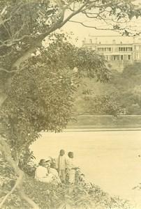 Madagascar Tananarive la Résidence du Gouverneur Ancienne Photo Ramahandry 1910'