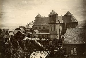 Madagascar Tananarive Eglise Abbaye? Ancienne Photo Ramahandry 1910'