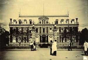 Madagascar Tananarive la Résidence du Gouverneur Facade Ancienne Photo Ramahandry 1910'
