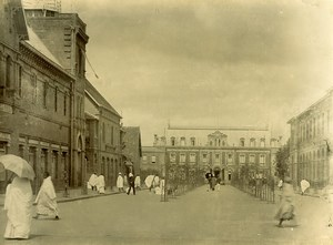 Madagascar Tananarive Avenue de France et Residence Ancienne Photo Ramahandry 1910'