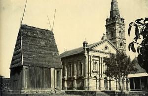 Madagascar Tananarive Temple de la Reine Besakana Andrianampoinimerina Photo Ramahandry 1910'