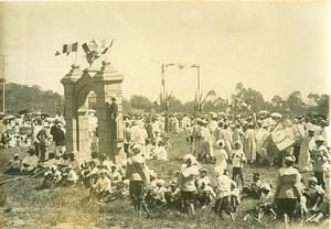 Madagascar Tananarive Mahamasina Fête des Enfants Ancienne Photo Ramahandry 1910'