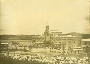 Madagascar Tananarive Train Station Opening Governor Photo Ramahandry 1910