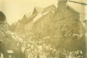 Madagascar Tananarive Governor Augagneur Parade Theatre Photo Ramahandry 1910'