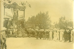 Madagascar Tananarive War Memorial Armistice? Old Photo Ramahandry 1920