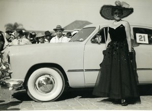 Madagascar Tananarive Ford Automotive elegance contest Old Photo 1949