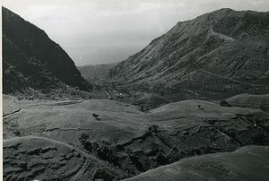 Comoros Anjouan View taken from Patsy Pass Bambao Old Photo 1950