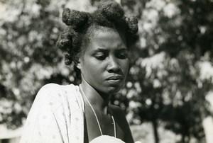 Madagascar Antsalova Sakalava Woman from Menabe Old Photo 1950