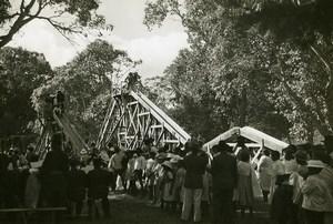 Madagascar Tananarive Children's Day Slides Old Photo 1950