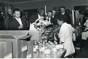 Madagascar Tananarive ? Visite d'une Entreprise? Ancienne Photo 1950
