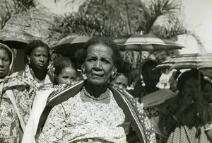 Madagascar Ambato Boeni Princess Sakalava Old Photo 1950