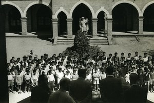Madagascar Tananarive? College Ecole Saint Michel Ancienne Photo 1950