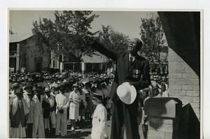 Madagascar Arivonimamo Veteran Speech Medals Old Photo 1950