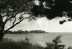 Madagascar Majunga Panorama Bord de Mer Ancienne Photo 1950