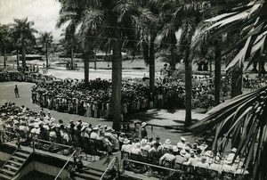 Madagascar Tamatave political speech Old Photo 1950