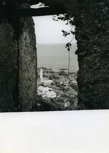 Comoros Anjouan seen through North postern Old Photo 1950