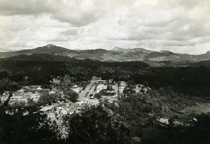 Madagascar Fianarantsoa Panorama General View Old Photo 1950