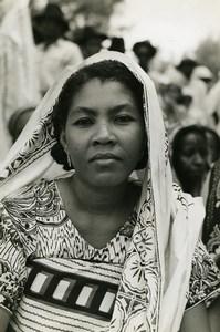 Madagascar Majunga Woman Portrait Old Photo 1950