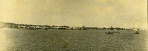 Vue poétique de Madagascar Panorama Majunga? Ancienne Photo 1937