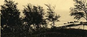 Vue poétique de Madagascar Panorama Fort Dauphin Ancienne Photo 1937