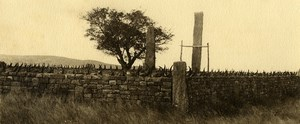 Poetic View of Madagascar Panorama Ambovombe Tomb Old Photo 1937