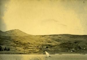 Vue poétique de Madagascar Tananarive Lac Anosy? Ancienne Photo 1937