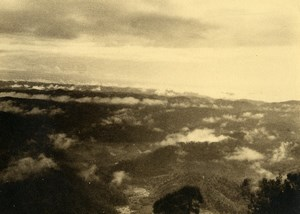 Poetic View of Madagascar Clouds Old Photo 1937