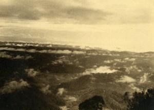 Vue poétique de Madagascar Nuages Ancienne Photo 1937
