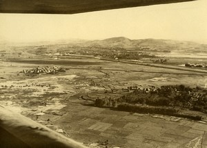 Aerial View of Madagascar near Tananarive? Old Photo 1937