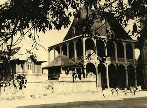 Vue poétique de Madagascar Tananarive Rova Manjakamiadana? Ancienne Photo 1937
