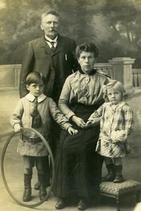 France Cerceau Jeu d'Enfants Famille Ancienne Photo 1920