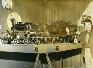 France Miniature Locomotive Alain Ducotte SNCF 241 Compound Old Photo 1967