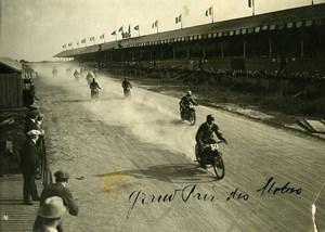 France Circuit de Touraine Grand Prix Motos 500CC Ancienne Photo 1923