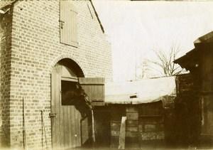 France Région Nord Cheval Ecurie Ancienne Photo 1900