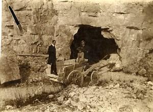France Hucqueliers Carriere de Pierre ? Ancienne Photo 1900