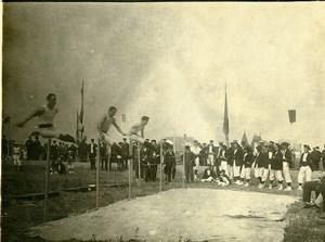 France Le Havre Gymnastics Competition High Jump? Old Amateur Photo 1910