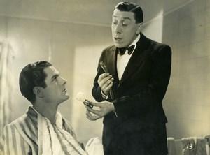 France French Cinema Actor Georges Grey & Fernandel Monsieur Hector Photo 1940