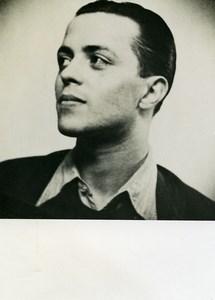 France Cinéma Acteur Portrait Ancienne Photo 1940