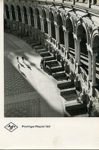 Publicity for Agfa paper Portriga-Rapid 122 Seville Plaza de España Photo 1960