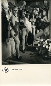 Publicity for Agfa paper Brovira 122 Sexy Dancers old Photo 1960
