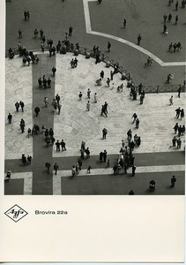 Publicity for Agfa paper Brovira 22a Perspective old Photo 1960
