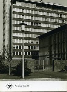 Publicité pour papier Agfa Portriga-Rapid 111 Architecture Batiment Ancienne Photo 1960