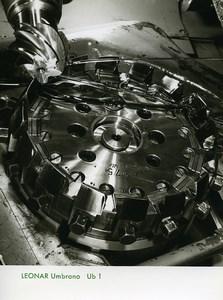 Publicité pour papier Agfa Leonar Umbrano Piece Metallique Ancienne Photo 1960