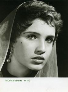 Publicité pour papier Agfa Leonar Ranarto 112 Femme Preoccupee Ancienne Photo 1960