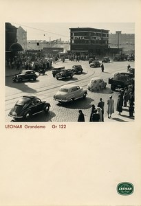 Publicity for Leonar Agfa paper Grandamo Gr122 Berlin? Automobile old Photo 1960